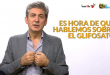 FEDEROVISKY: TENGO GLIFOSATO EN LA SANGRE