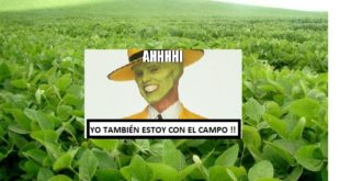 ¿RECORDÁS CUANDO SE INLFAMABAN DE PATRIOTISMO GRITANDO: 'ESTOY CON EL CAMPO'?….